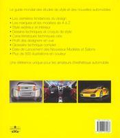 L'annuel du design automobile 2004 - 4ème de couverture - Format classique
