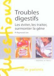 Troubles digestifs - Intérieur - Format classique