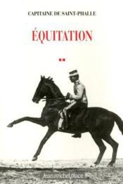 Équitation - Couverture - Format classique