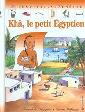 Kha, le petit egyptien - Intérieur - Format classique