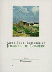 Journal De Lumiere - Couverture - Format classique