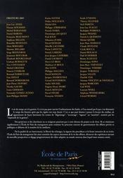 Les annales de l'epm t.12 ; travaux de l'année 2005 - 4ème de couverture - Format classique