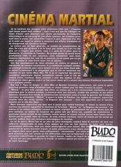 L'histoire et les vedettes du cinéma martial - 4ème de couverture - Format classique