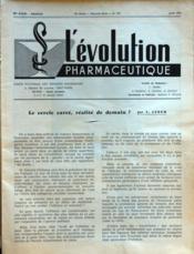 Evolution Pharmaceutique (L') N°319 du 01/06/1974 - Couverture - Format classique