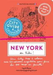 Vente  Mini mini map ! ; New-York en tribu ! un city guide à colorier!  - Ingrid Bauer - Alice Charbin Dumas