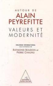 Valeurs Et Modernite - Couverture - Format classique