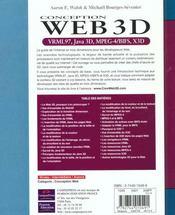 Web 3d - 4ème de couverture - Format classique