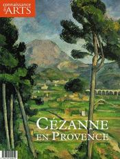 Connaissance Des Arts N.286 ; Cézanne En Provence - Couverture - Format classique