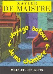 Voyage autour de ma chambre - Intérieur - Format classique