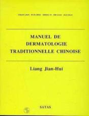 Manuel Derm Trad Chinois - Couverture - Format classique