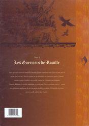 Mortepierre t.2 ; les guerriers de rouille - 4ème de couverture - Format classique