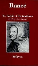 Soleil Et Les Tenebres (Le) - Couverture - Format classique