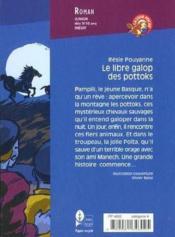 Le Libre Galop Des Pottoks. Collection Castor Poche N° 294 - Couverture - Format classique