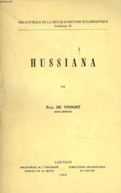 Hussiana - Couverture - Format classique