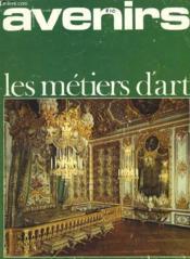 Avenir - Les Metiers D'Art - Mensuel - Fevrier - Mars - Couverture - Format classique