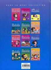 Mafalda Revient - 4ème de couverture - Format classique