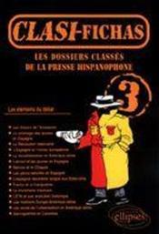 Les Dossiers Classes De La Presse Hispanophone 3 - Couverture - Format classique