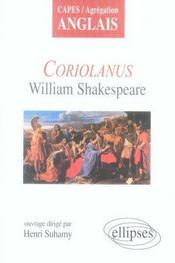 Coriolanus, william shakespeare - Intérieur - Format classique
