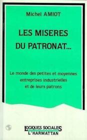 Misere Du Patronat - Couverture - Format classique