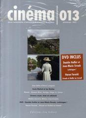 Revue Cinema N.13 ; Cinéma N.13 - Intérieur - Format classique