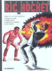 Ric Hochet ; intégrale t.11 - Intérieur - Format classique