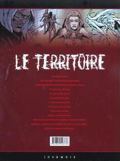 Le territoire t.1 ; nécropsie - 4ème de couverture - Format classique