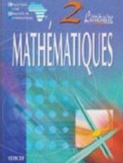 Mathematiques ciam 2nde a (litteraire) - Couverture - Format classique