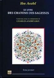 Livre Des Chatons Des Sagesses (Le) T.1 - Couverture - Format classique