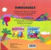 Dinosaures - 4ème de couverture - Format classique