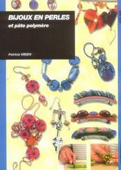 Bijoux en perles et pate polymere - Intérieur - Format classique