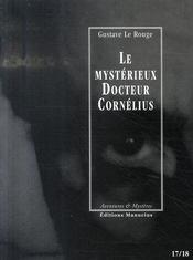 Le mystérieux docteur Cornélius t.17 et t.18 - Intérieur - Format classique