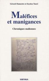Malefices et manigances ; chroniques maliennes - Couverture - Format classique