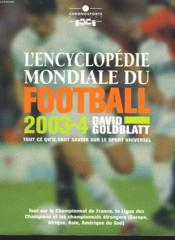 Encyclopedie Mondiale Du Football - Couverture - Format classique