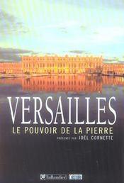 Versailles-Le Pouvoir De La Pierre - Intérieur - Format classique