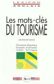 Mots cles tourisme /anglais - Intérieur - Format classique