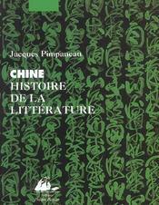 Chine Histoire De La Litterature - Intérieur - Format classique