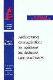 Architecture Et Communication - Intérieur - Format classique