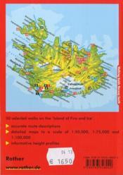 Islande / Iceland (Ang) - 4ème de couverture - Format classique