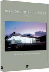Maisons minimalistes - Couverture - Format classique