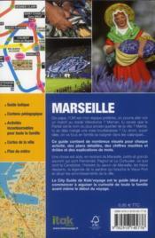 **Marseille - 4ème de couverture - Format classique