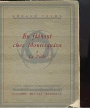 En Flânant Chez Montesquieu A La Brede - Couverture - Format classique