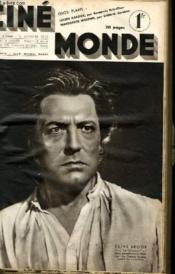 CINEMONDE - 8e ANNEE - N° 328JOAN CRAWFORD, MARGUERITE MORENO, CAROLE LOMBARD, JEANETTE MAC DONALD... - Couverture - Format classique