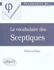 Sceptiques - Intérieur - Format classique