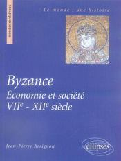 Byzance, économie et société, vii-xii siècle - Intérieur - Format classique