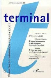 Terminal 61 - Couverture - Format classique