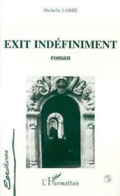 Exit Indefiniment - Couverture - Format classique