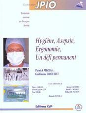 Hygiene asepsie ergonomie un defi permanent - Intérieur - Format classique
