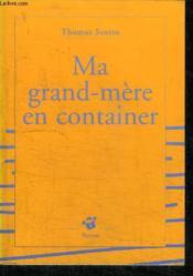 Ma Grand-Mere En Container - Couverture - Format classique