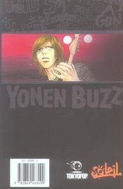 Yonen buzz t.1 - 4ème de couverture - Format classique