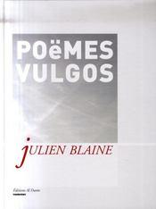 Poemes vulgos - Intérieur - Format classique